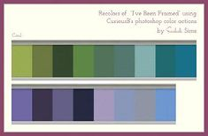 """Mod The Sims - Lots of Recolors of the """"I've Been Framed"""" Wall"""
