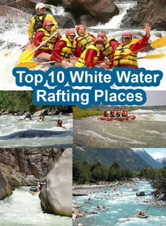 White Water Rafting is a true adventure to do in summer. Get information about Top 10 White Water Rafting Places 2015 around the world specially from USA.