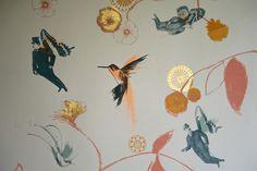 Flying Gentlemen Wallpaper | Velvet & Dash
