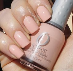 Orly Prelude to a Kiss, wedding nails