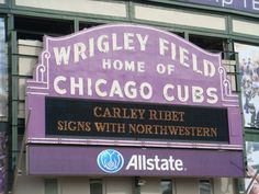 The Chicago Real Estate Local: Photos: Wrigley Field painted ...