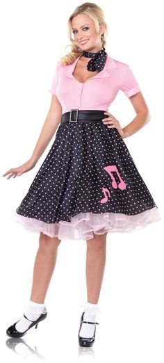 Buy Quality Fancy Dress Directly From China Costumes Suppliers Gorgeous Poodle Rockabilly Retro Swing Grease Costume Plus Size