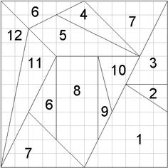 Did You Know? The oldest known puzzle is a dissection of a square mentioned by Archimedes around 250BC. The answer of 536 was only found in 2003. #RoW