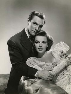 Gene Kelly and Judy Garland, publicity shot for For Me and My Gal (1942) -via always-fair-weather