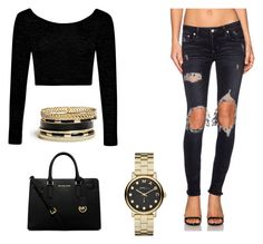 """""""Sexy brunch"""" by pinkoala on Polyvore featuring Lovers + Friends, Boohoo, MICHAEL Michael Kors, GUESS and Marc by Marc Jacobs"""
