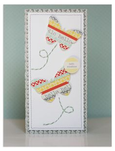 Card by Lisa Dickinson using Lily Bee Design Pinwheel collection #cards #lilybee #lilybeedesign