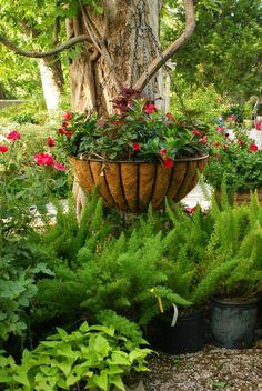 Lovely garden spot.