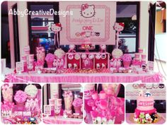 WOW! Hello Kitty Candy buffet