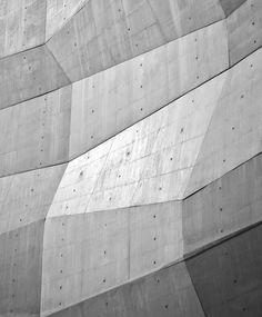 Faceted Concrete Facade