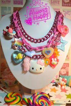 I Love Sweets Hello Kitty! necklace