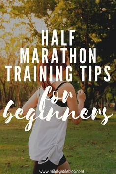 The half-marathon is a great distance for runners of all levels. However, if you are new to the half-marathon there are some things you need to know. Make sure to check out these half-marathon tips for beginners to find out what you need to know before your first half-marathon. Half Marathon Tips, Half Marathon Training, Marathon Running, Half Marathons, Interval Running, Running Workouts, Running Tips, Running Blogs, Learn To Run