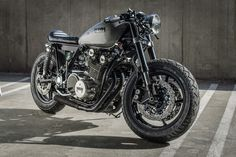 YAMAHA XS850:: BY SPIN CYCLE INDUSTRIES | 8negro