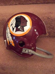Riddell Kra-Lite II Football Helmet-1970 Washington Redskins- Billy Kilmer | eBay
