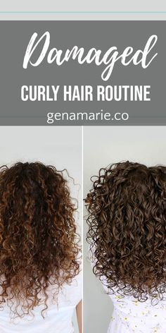 Curly Hair Routine for Wet Frizz + How to Tame Wet Frizz - Gena Marie