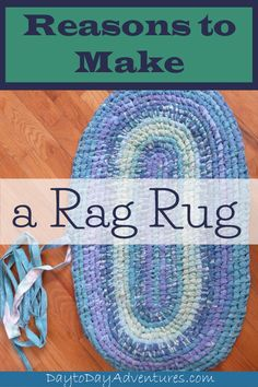 Making rag rugs is a great DIY craft that creates a functional and beautiful item. Announcing ebook tutorial that shows you step by step how to make rag rugs. - DaytoDayAdventures.com