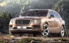 Bentley is the latest super luxury brand to entire the highly lucrative SUV market. The company teased the motoring public at the Geneva Auto Show in 2012 with an SUV concept that was more controversial then cutting edge. Bentley Suv, New Bentley, Bentley Motors, Mercedes Benz Maybach, Nissan Gt R, American Graffiti, Cadillac Escalade, Cadillac Cts, Cars Motorcycles