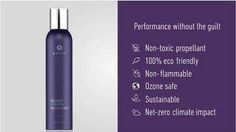 A hairspray that's non-flammable, sustainable and actually GOOD for your hair? YES!   Refinish Control Hairspray is a strong yet flexible finishing spray that provides texture, volume and long-lasting touchable support. Like many Monat products, Refinish is infused with Rejuveniqe, Capixyl, Procataline, and Crodasorb.