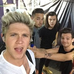 Niall Horan, Liam Payne, Harry Styles, and Louis Tomlinson