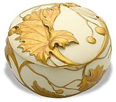 Art Nouveau Cicada Jewelry Box