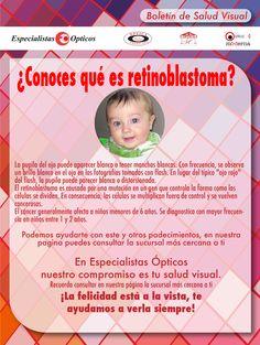 ¿Conoces qué es retinoblastoma?