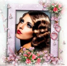 Pretty Photo Frame - Nicky47
