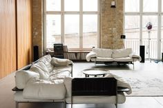 The sprawling living room of artist Christian Jankowski - Freunde von Freunden