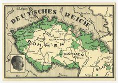 Sudetenland union memory PC Ein Volk Ein Reich, Ein Fuehrer uesd with Breitenbach Liberation SSt 10-4-1938.