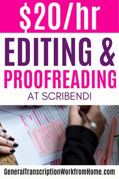 Remote Editing and proofreading jobs for Scribendi, including academic, book, ESL, business editing and proofreading jobs. Work from home as a freelance proofreader. Read my review. #proofreading #proofreadingjobs #editing #editingjobs #proofreader  #remotejobs #onlinejobs Legit Work From Home, Legitimate Work From Home, Work From Home Tips, Copy Editing, Editing Writing, Make Money Online, Make Money From Home, Job Interview Questions