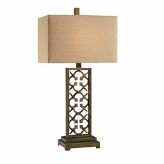 Colfax Table Crestview Lamp CVAER549 Iron&Resin Rustic Set of 2 only for $299