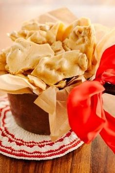 Pecan Brittle is a staple in the South. Wrap it with ribbon in a pretty in, and you've got a gift anyone would love to receive.