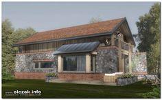Architekt Maciej Olczak - domek nad jeziorem