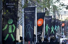 Free / See / Various locations around the city / To 20 Oct / www.tendollartown.com.au/items.php?itemid=571  Banners of lttle green men from all over the world.