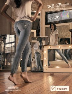 Freddy WR.UP® - now available in Freddy Pant Room Antwerp - last news & collections on https://www.facebook.com/FreddyPantRoom