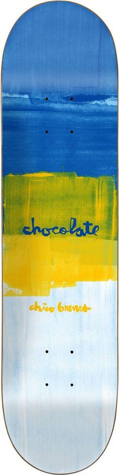 CHOCOLATE BRENES SUBTLE SQUARE DECK