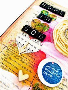 Bible Journaling : Psalm 43:5   Bonita Rose