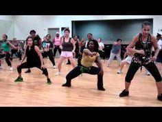 Zumba plus cardio dance (how low can you go ) - YouTube
