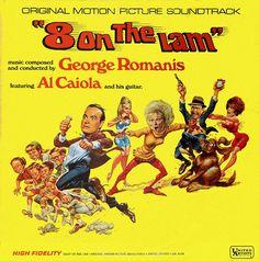 George Romanis - 8 On The Lam (Original Motion Picture Soundtrack): buy LP, Album at Discogs