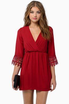 Tobi - Lindsey Crochet Dress