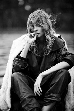 """Magdalena Frackowiak in """"Decadent Creation"""" for Mixt(e) Magazine #9, Fall/Winter 2014-2015 Photographed by: Emma Tempest"""