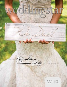 Equestrian Love: The 3rd installment in our wedding lookbook series. Inside awaits beautiful rustic wedding inspiration - start your planning journey here: http://issuu.com/weddingstar/docs/weddingstar-equestrian-love-lookbook