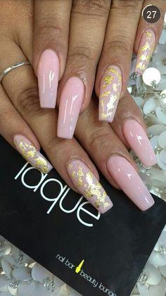 Gold foil plus pink