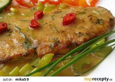 Přírodní pikantní vepřový plátek recept - TopRecepty.cz Meat, Chicken, Food, Essen, Meals, Yemek, Eten, Cubs