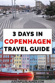 Looking for what to do in Copenhagen? Here's my Copenhagen travel guide for a 3 day Copenhagen itinerary! There's information about attractions, restaurants, where to stay, and everything you need to know to plan your trip to Copenhagen. European Travel Tips, European Vacation, Europe Travel Guide, Travel Guides, Travelling Europe, Travel Plan, Travel Packing, Visit Denmark, Denmark Travel