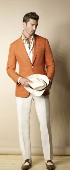 Men: What you need to be thinking is Cuba: Cigars, hats, smart shirts, brightly coloured and braces. Much like these: