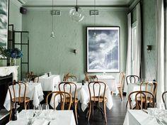 Entrecote South Yarra – Inspired by Parisian Bistro / Flack Studio Sydney Restaurants, French Restaurants, House Doctor, Cafe Restaurant, Restaurant Design, Restaurant Interiors, Restaurant Ideas, Hotel Interiors, Flack Studio