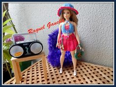Baby Barbie, Barbie Dolls, Top Croped, Crochet Dolls, Knit Crochet, E Ca, Sewing Toys, Doll Patterns, Fashion Dolls