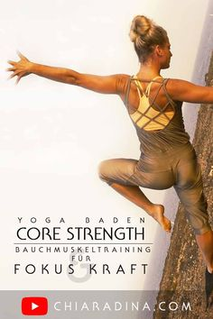Ein exquisites Core Strength Bauchmuskeltraining für eine kraftvolle Mitte und emotionale Zentrierung, die Transformation und den Gang durchs Feuer mit einem klaren, wachen Geist ein wenig einfacher macht. #bauchmuskel #starke mitte #chiaradina #yogabadenbeiwien