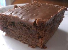 Double Chocolate Coca Cola Cake