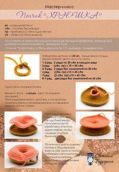 МК и онлайны по вязаным игрушкам в одной группе! Crochet Cake, Crochet Food, Crochet Kitchen, Crochet Pillow, Crochet Doilies, Chunky Crochet Scarf, One Skein Crochet, Crochet Stars, Crochet Amigurumi Free Patterns