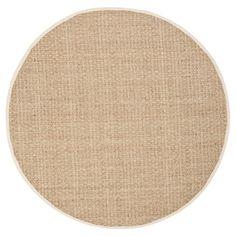 Natural Fiber Rug - Natural/Ivory - (10'x10' Round) - Safavieh